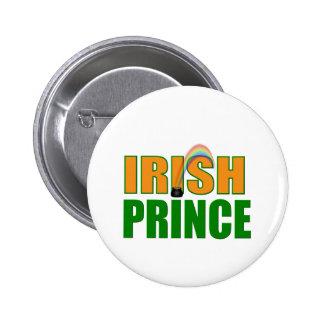 Irish Prince 6 Cm Round Badge
