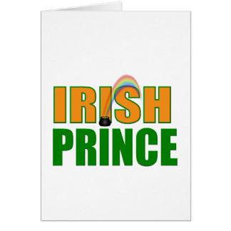 Irish Prince Greeting Card