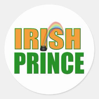 Irish Prince Sticker