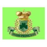 Irish Princess Post Card