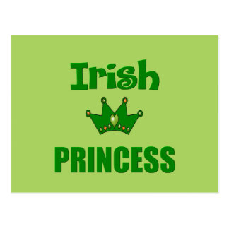 Irish Princess Postcard