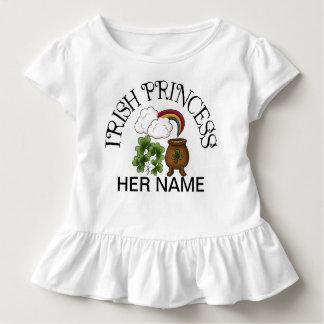 Irish Princess Shamrocks Pot of Gold Toddler T-Shirt