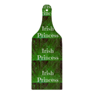 Irish Princess Sparkle Cutting Board