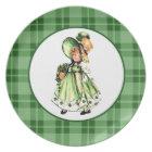 Irish Princess. St Patrick's Day Party Plates