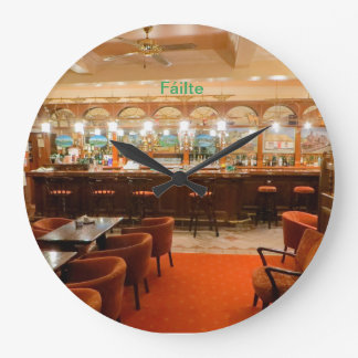 Irish Pub image for Round Wall Clock