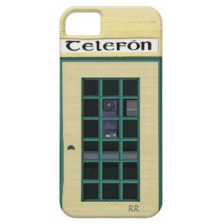 Irish Public Telephone Box on iPhone 5 Case