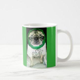 Irish Pug Coffee Mug