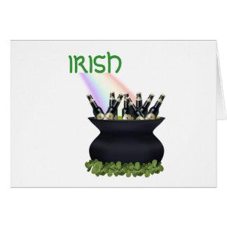 Irish Rainbow Card