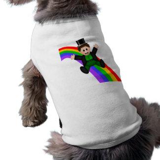 Irish Rainbow Pet T Shirt