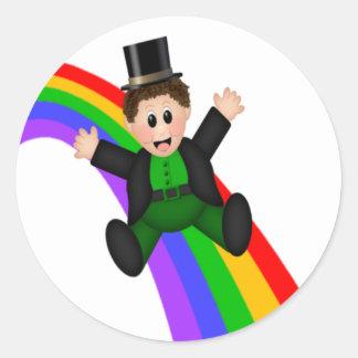 Irish Rainbow Stickers