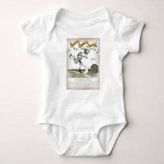 irish right wing footballer baby bodysuit