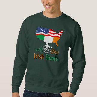 Irish Roots, American Map Sweatshirt