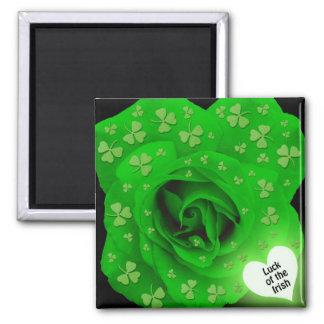 Irish Rose - Luck of the Irish Magnet