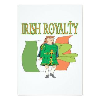 Irish Royalty 13 Cm X 18 Cm Invitation Card