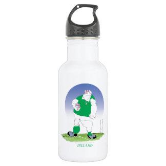 irish rugby player, tony fernandes 532 ml water bottle