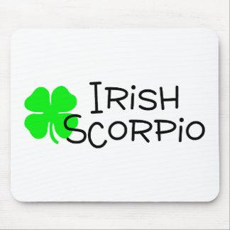 Irish Scorpio with Clover Mouse Pad