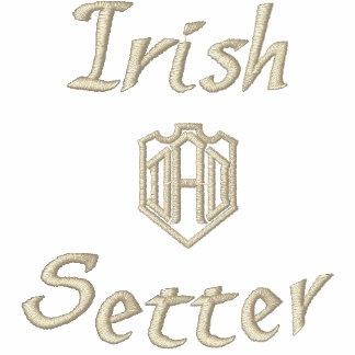 Irish Setter Dad Gifts Embroidered Shirts