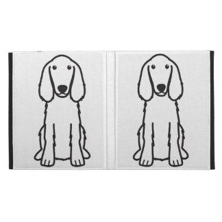 Irish Setter Dog Cartoon iPad Folio Case