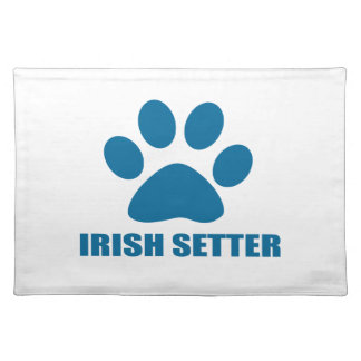 IRISH SETTER DOG DESIGNS PLACEMAT