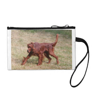 irish setter full 3 coin purse