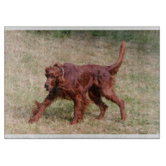 irish setter full 3 cutting board