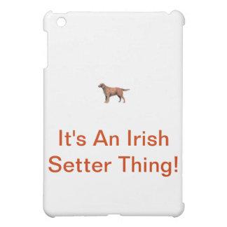 Irish Setter iPad Mini Cover