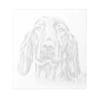 IRISH SETTER Notepad