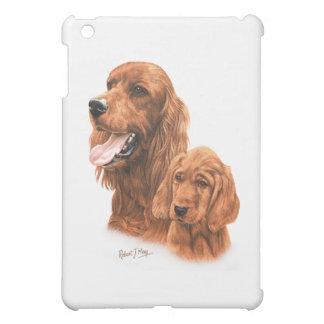 Irish Setter & Pup iPad Mini Cover