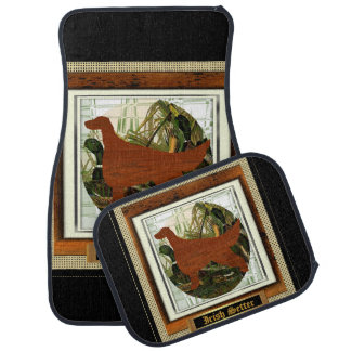 Irish Setter Sporting Group Gifts Car Mat