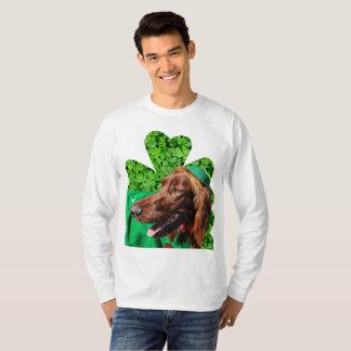 Irish Setter St. Patrick's Men's Lg Sleeve T-Shirt