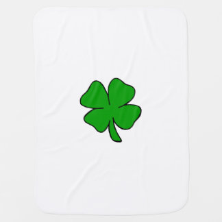 Irish Shamrock Baby Blanket