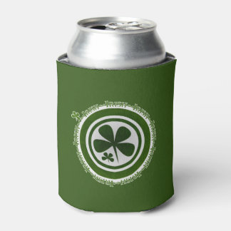 Irish Shamrock Can Cooler