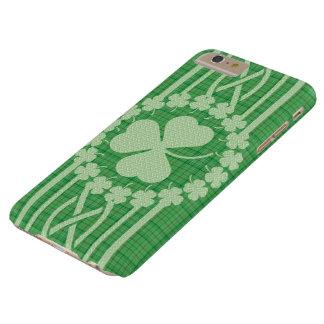 Irish Shamrock Celtic Barely There iPhone 6 Plus Case