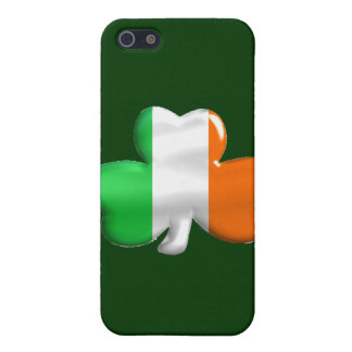 Irish Shamrock Clover Flag iPhone 5 Cases