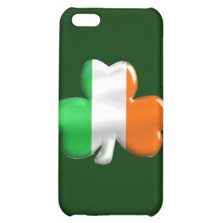 Irish Shamrock Clover Flag iPhone 5C Covers