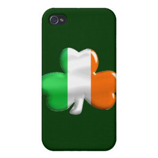 Irish Shamrock Clover Flag Case For iPhone 4