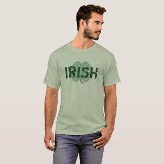 Irish Shamrock Distressed St Paddy's Day Shirt