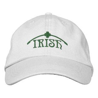 Irish Shamrock Embroidered Hats