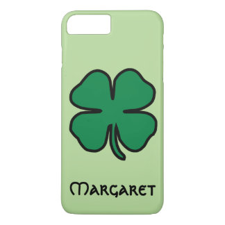 Irish Shamrock Four Leaf Clover iPhone Case Name