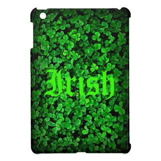 Irish shamrock green clover Ireland Case For The iPad Mini