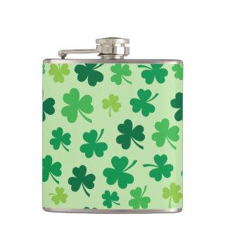 Irish Shamrock Hip Flask | Irish Gifts