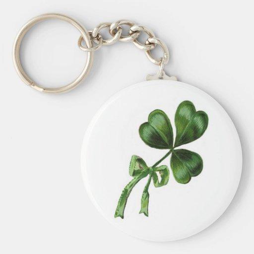 Irish Shamrock Key Chains
