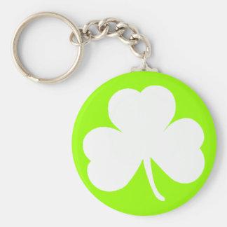 Irish Shamrock Keychains
