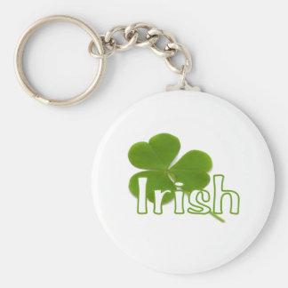 Irish Shamrock Key Chain