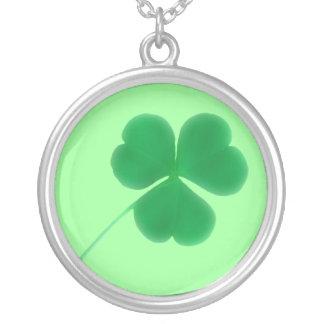 Irish Shamrock Lucky Necklace