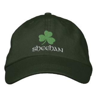 Irish Shamrock Personalized Embroidered Cap