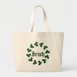 Irish Shamrock Ring Tote Bag