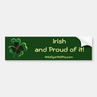 Irish Shamrock Series Bumper Sticker