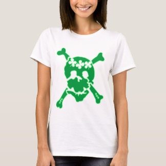Irish Shamrock Skull T-Shirt