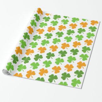Irish Shamrock St. Patrick's Day Wrapping Paper